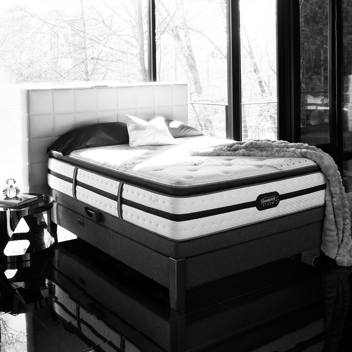 boxspringmatratze beautyrest aspen hier kaufen. Black Bedroom Furniture Sets. Home Design Ideas