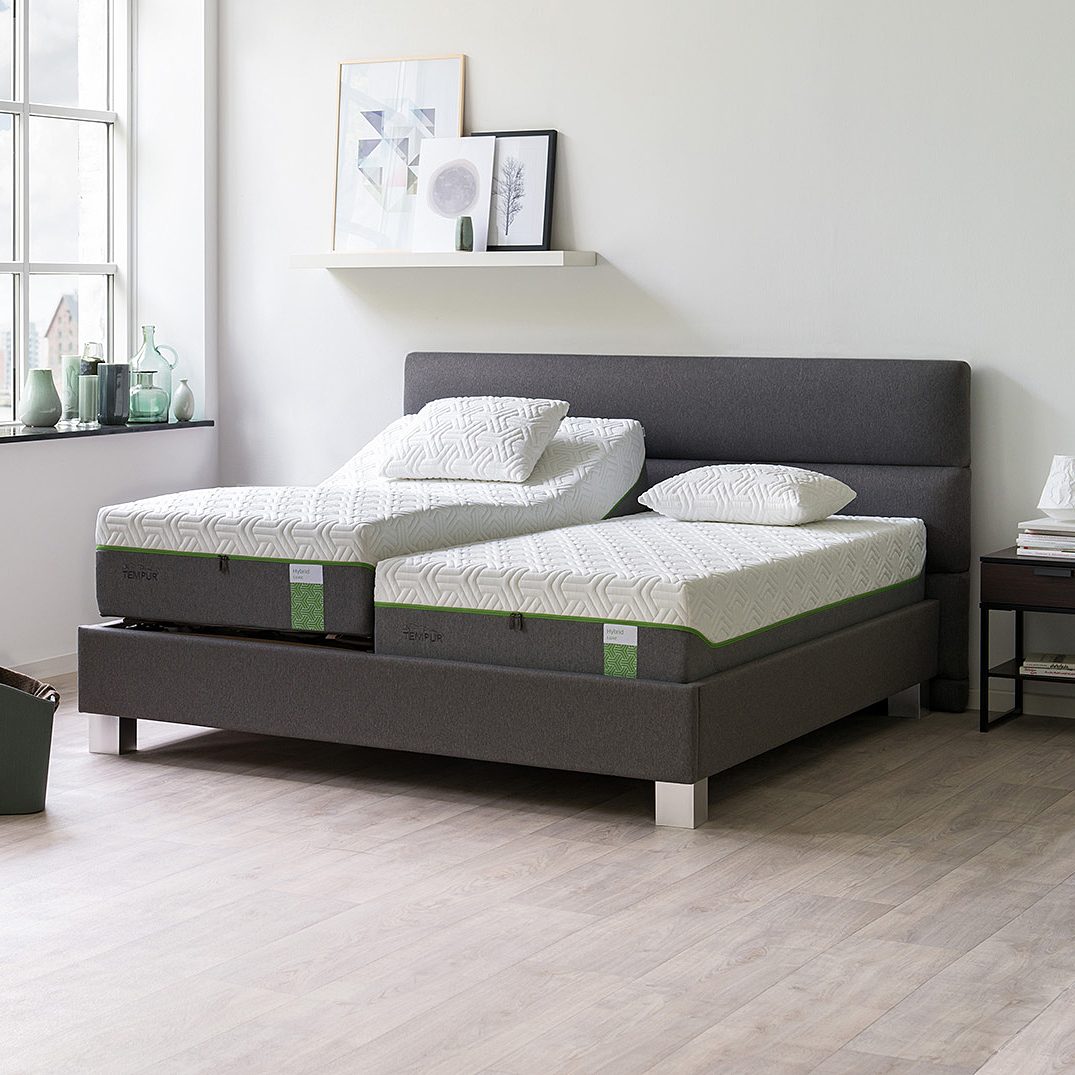 boxspringbett hybrid luxe adjustable luxus. Black Bedroom Furniture Sets. Home Design Ideas